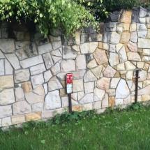 ogrodzenie z piaskowca